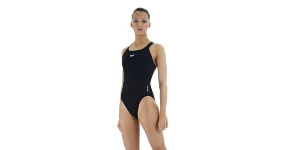 speedo Essential Endurance+ Medalist - Maillot de bain Femme - noir